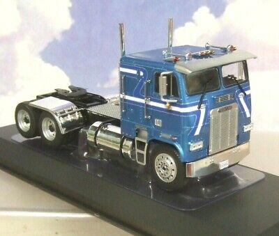 IXO DIECAST 1/43 1993 FREIGHTLINER FLA TRUCK CAB/TRACTOR IN METALLIC BLUE TR046