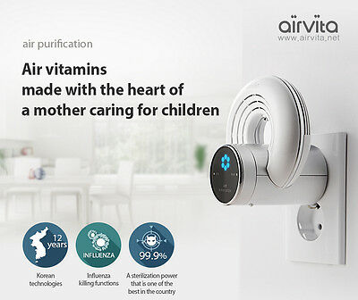 Made In Korea AIRVITA Anion Air Purifier Invention Exhibition Gold Award 3ea
