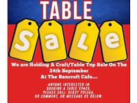 Craft/Table Top Sale