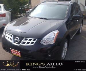 2013 Nissan Rogue SV, AWD, NAVI, SUNROOF, BACK UP CAM