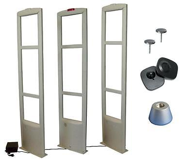 Checkpoint Compatible 8.2mhz 3-tower Eas Tag Security System Up To 10ft Fr Usa