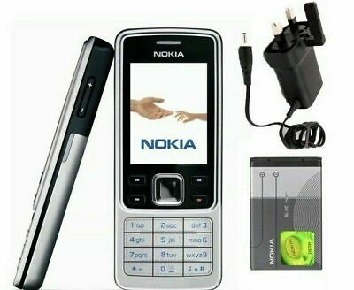 Classic Nokia 6300 NEW Classic Silver Camera Bluetooth Phone 2 Years Warranty