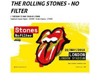 Rolling Stones/Liam Gallagher London 22 May GOLD circle x 2
