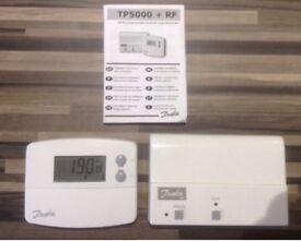 Danfoss Wireless TP 5000 RF boiler programmer With Receiver.
