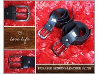 Full Grain Durable Pure Leather Men's Belt - Playboy