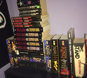 Stephen King Books starting at $3 Soft Cover $5 Hard Cover
