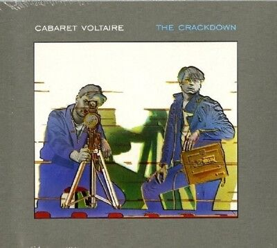 Cabaret Voltaire   The Crackdown  Cd  13 Tracks Pop Electronic  New