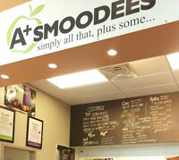 Wanted: staff needed immediately for smoothie bar