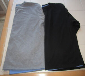 2x Men's long sleeve mesh lined shirts size Large *barely worn