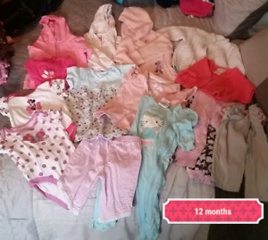 Baby girl clothing 12 months