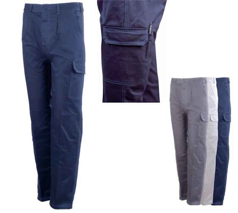 Pantalone da lavoro fustagno invernale 100% Cotone promozione colore grigio