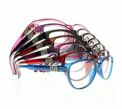 Women Multi-Colors Rhinestone Cat Eye Myopia Glasses Nearsighted (Eye Glasses From China)