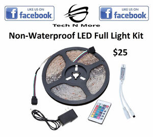 Non-Waterproof LED Full Light Kits (Multicolored)