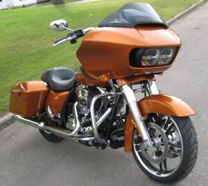 2015 Harley Amber Whiskey FLTRXS Road Glide Special ONLY 8,900 K