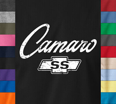 CAMARO SS Logo T-Shirt - Chevy Chevrolet Classic American Muscle Car Hot Rod Tee
