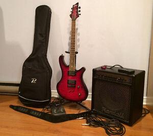 Guitare NRJ + Ampli Randall ++
