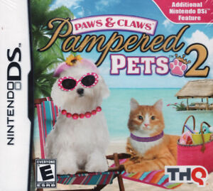 Paws and Claws Pampered Pets 2 - Nintendo DS Brand New & Sealed!