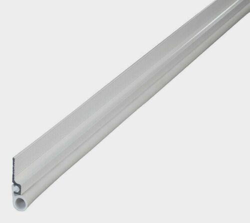 "43343 M-D Bldg 85"" Cinch WHITE Top & Side STICK-ON Door Draft Seal Weatherstrip"