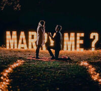 Marquee Letters, Balloon Decor and Flower Wall Backdrops Toronto
