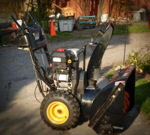 30 inch two stage snowblower