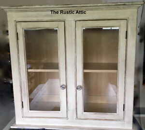 Handcrafted Cabinet Entertainment Media Armoire Island Bookshelf