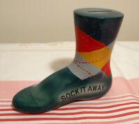 Banque vintage en forme de bas Sock it away