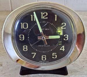 Antiquité. Collection. Réveil-matin mécanique Baby Ben Westclox