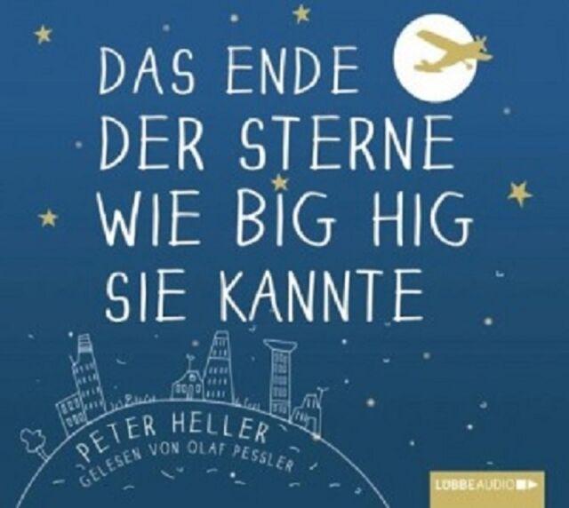 PETER HELLER - DAS ENDE DER STERNE WIE BIG HIG SIE KANNTE 6 CD HÖRBUCH NEU