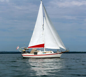 1983 Bayfield 29 (Set up for Cruising and living aboard)