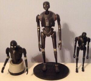 STAR WARS ROGUE ONE K-2S0 FIGURES