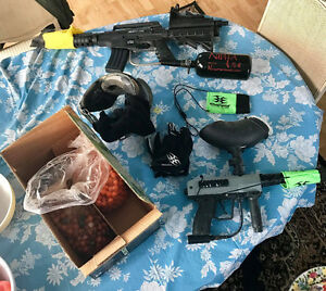 Selling Paintball Equipment(s) & Accessories Windsor Region Ontario image 1