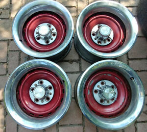 "Chev/GMC 15"" x 8"" steel rims - 4pcs fit Impala Caprice SS"