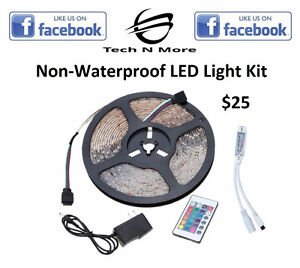 Non-Waterproof LED Light Kits (Multicolored)(Dimmable)