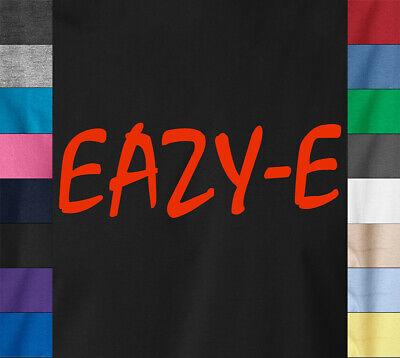 EAZY-E T-Shirt Old School Hip Hop Retro Rapper Vintage Wu Tan Ice Cube Music (Old Eazy E)