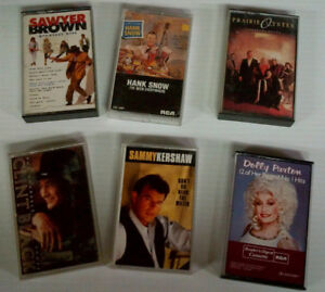 240 Music Cassette Tapes of a variety of genre 25 cents each