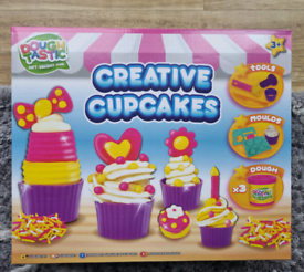 Dough-Tastic Creative Cup Cakes Creative Arts & Crafts Play NEW