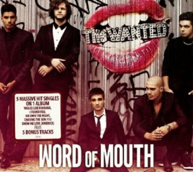 THE WANTED - WORD OF MOUTH (DELUXE EDITION)  CD  19 TRACKS POP  NEU