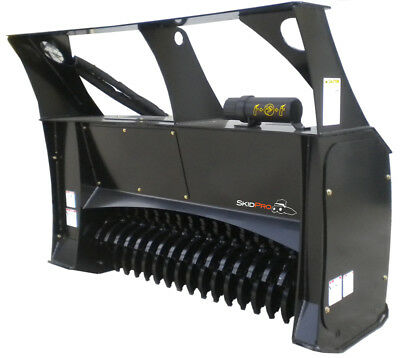Forestry Mulcher 60 High-flow Skid Steer Loader Attachment Bobcat Kubota Gehl