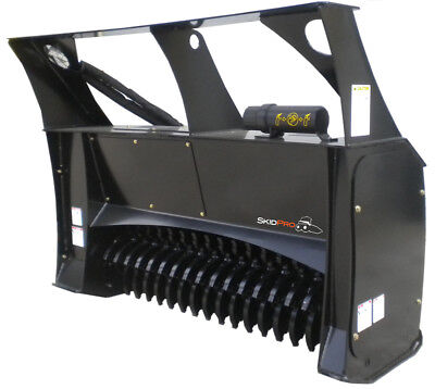 Forestry Mulcher 48 Low-flow Skid Steer Loader Attachment Bobcat Kubota Gehl