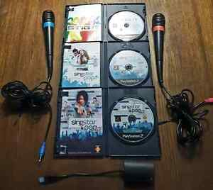 PLAYSTATION 2 and 3 SINGSTAR PACKAGE  / ENSEMBLE  West Island Greater Montréal image 3