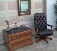 Vintage Leather (desk) Chair