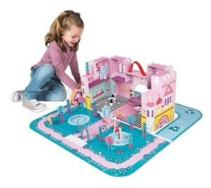 NEW: Janod Princess Palace Play Set - $40 (CASH, NO TAX)