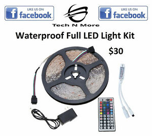 Waterproof LED Full Light Kits (Multicolored)