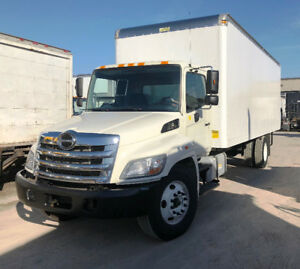 2012 Hino 268 24 Feet Box Auto Tailgate G License Navigation