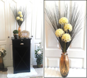 Flower stands kijiji in calgary buy sell save with canadas pier 1 vase with tall silk flower arrangements classy beauty mightylinksfo