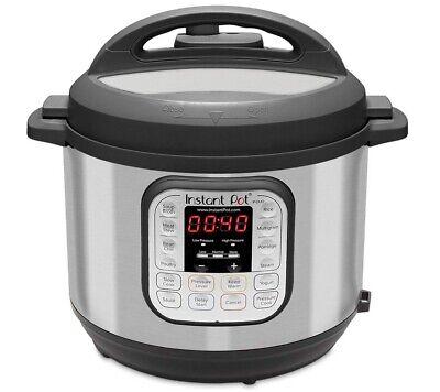 Instant Pot Duo 80 7-in-1 8qt 1200W Pressure Cooker - Silver (IP-DUO80)