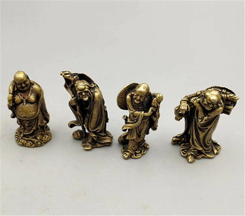 Chinese Bronze 18 arhat statue 道教18阿罗汉
