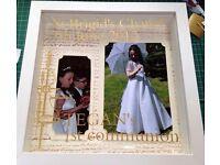 1st Communion frame personalised