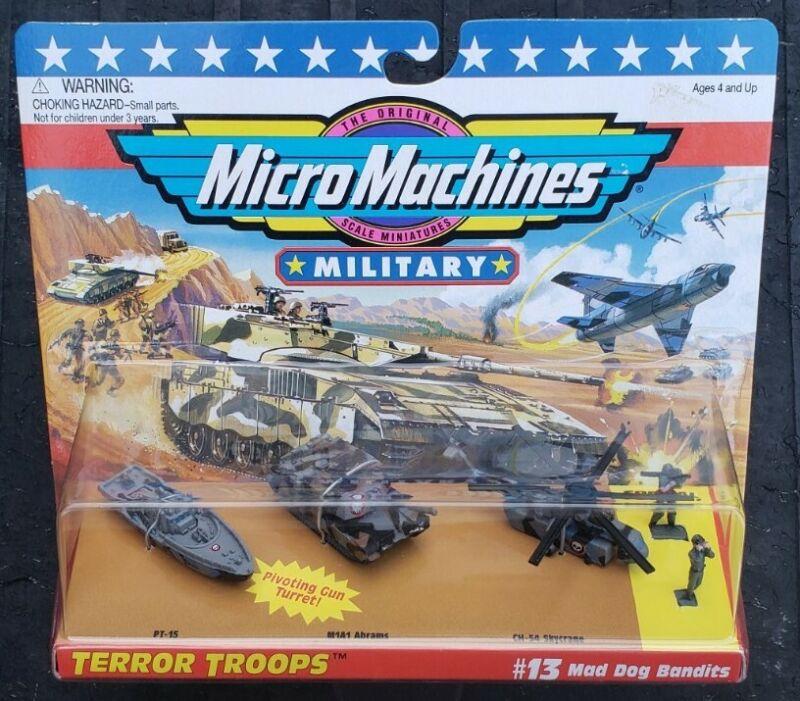 Micro Machines Military Terror Troops #13 Mad Dog Bandit Galoob Vintage VHTF