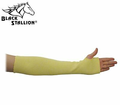 Black Stallion Kk-18t 18 Double Kevlar Knit Sleeve Thumb Hole Cut Resistant